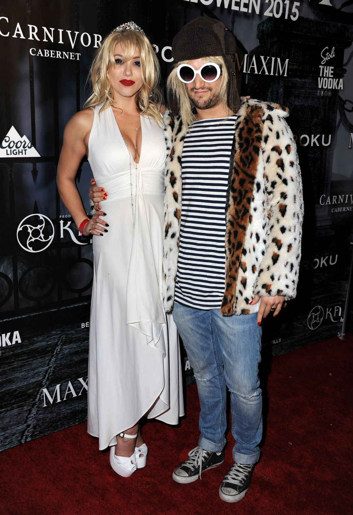 BC JEAN at Maxim Magazine's Official Halloween Party in Beverly ...