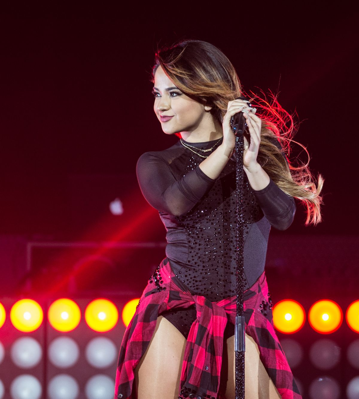 BECKY G Performs at Hard Rock Hotel & Casino in Las Vegas ...