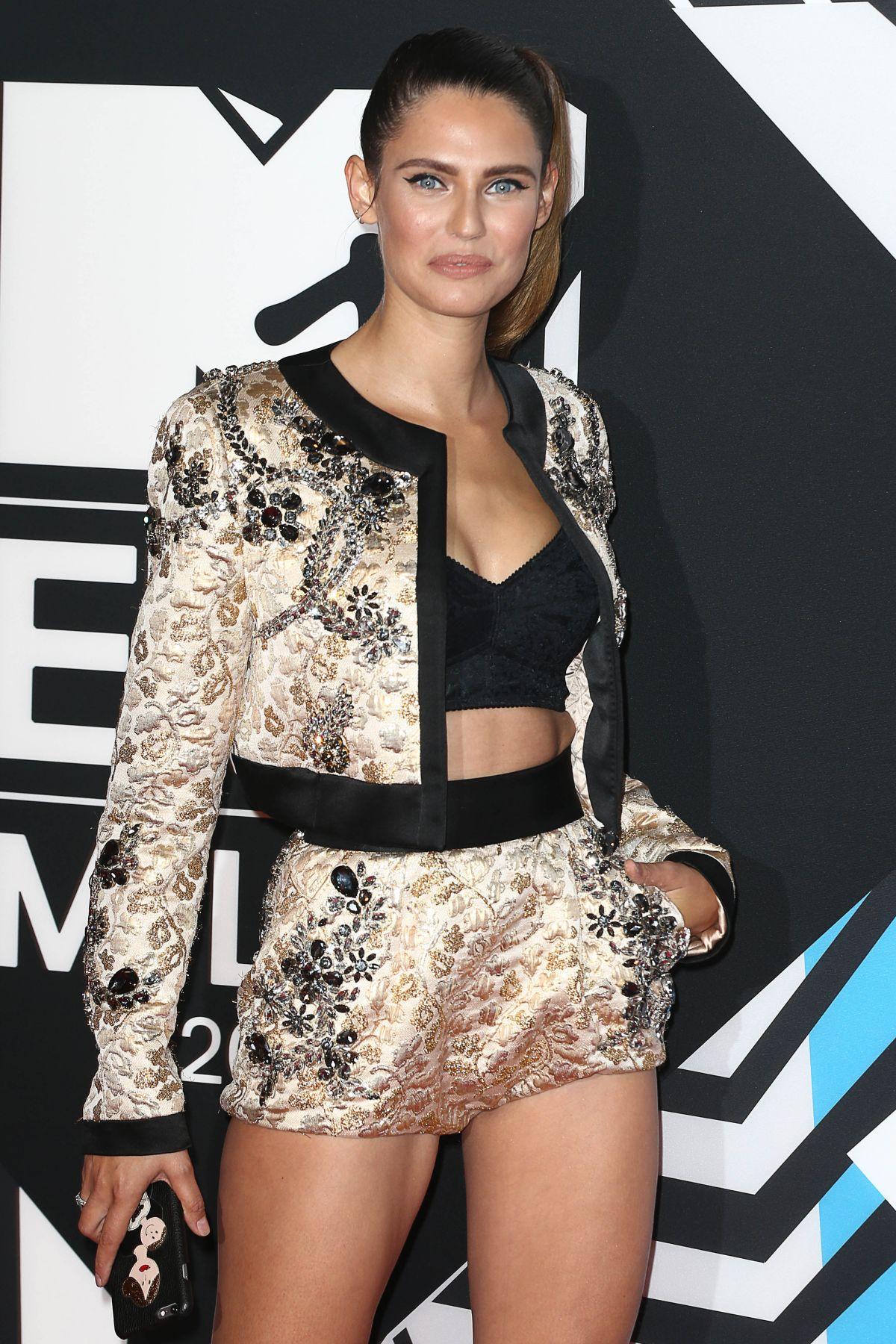 BIANCA BALTI at MTV European Music Awards 2015 in Milan 10/25/2005