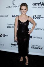 BILLIE CATHERINE LOURD at amfAR's Inspiration Gala in Hollywood 10/29/2015