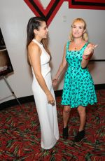 BREA GRANT and ASHLEY C WILLIAMS at Julia Screening in Burbank 10/24/2015