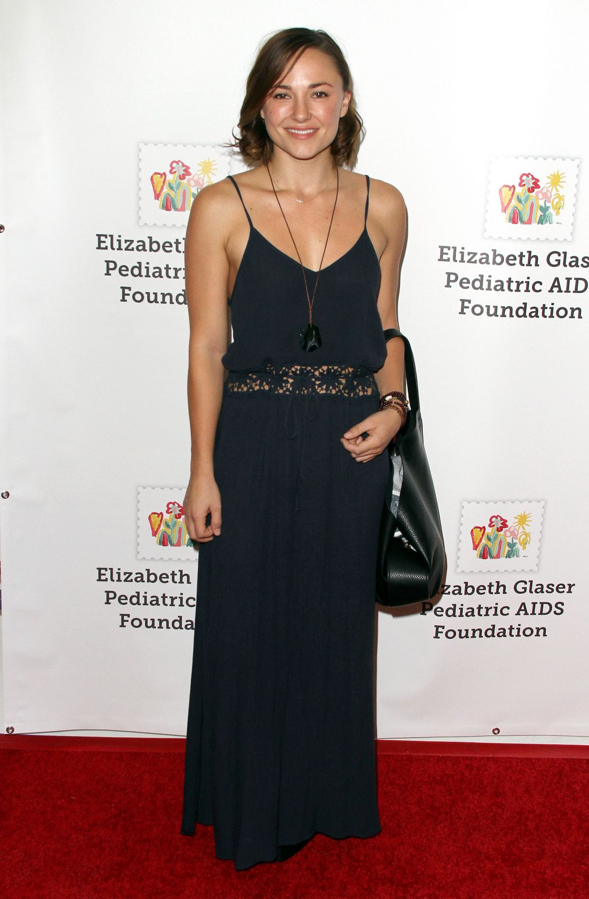 BRIANA EVIGAN at A Time for Heroes in Culver City 10/25/2015