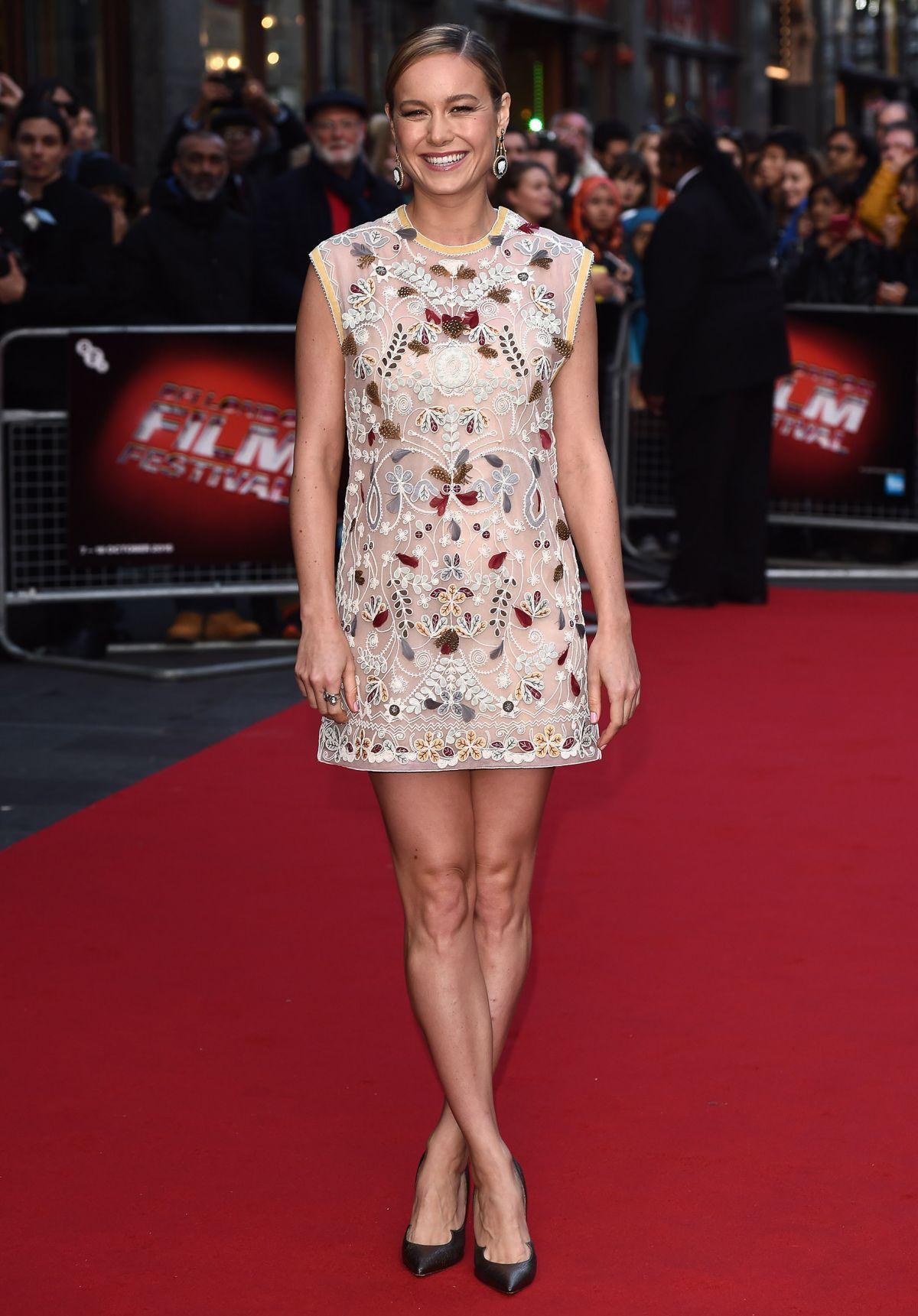 Brie Larson At Room Screening At 2015 Bfi London Film