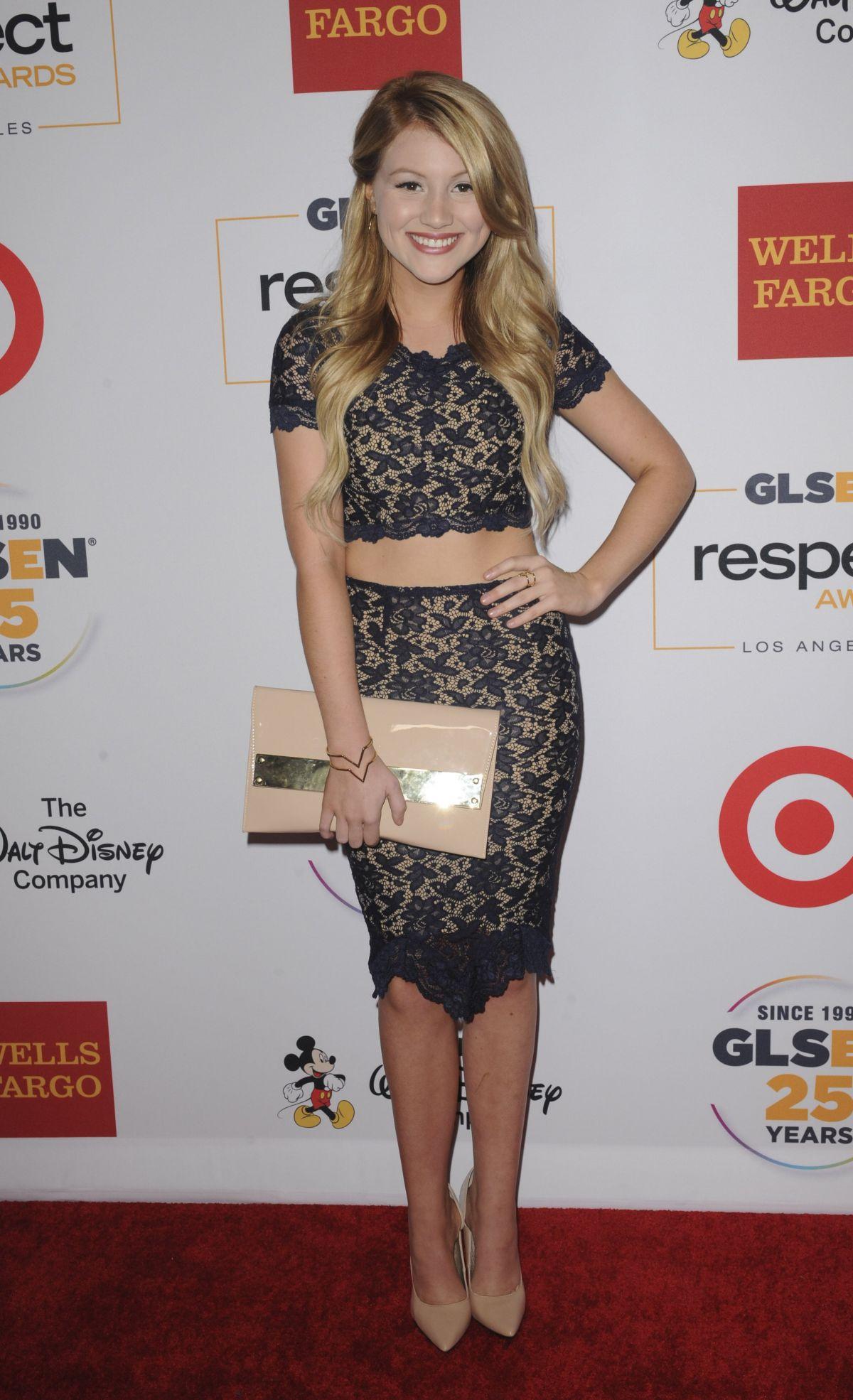 BROOKE SORENSON at 2015 glsen Respect Awards in Beverly Hills 10/23/2015