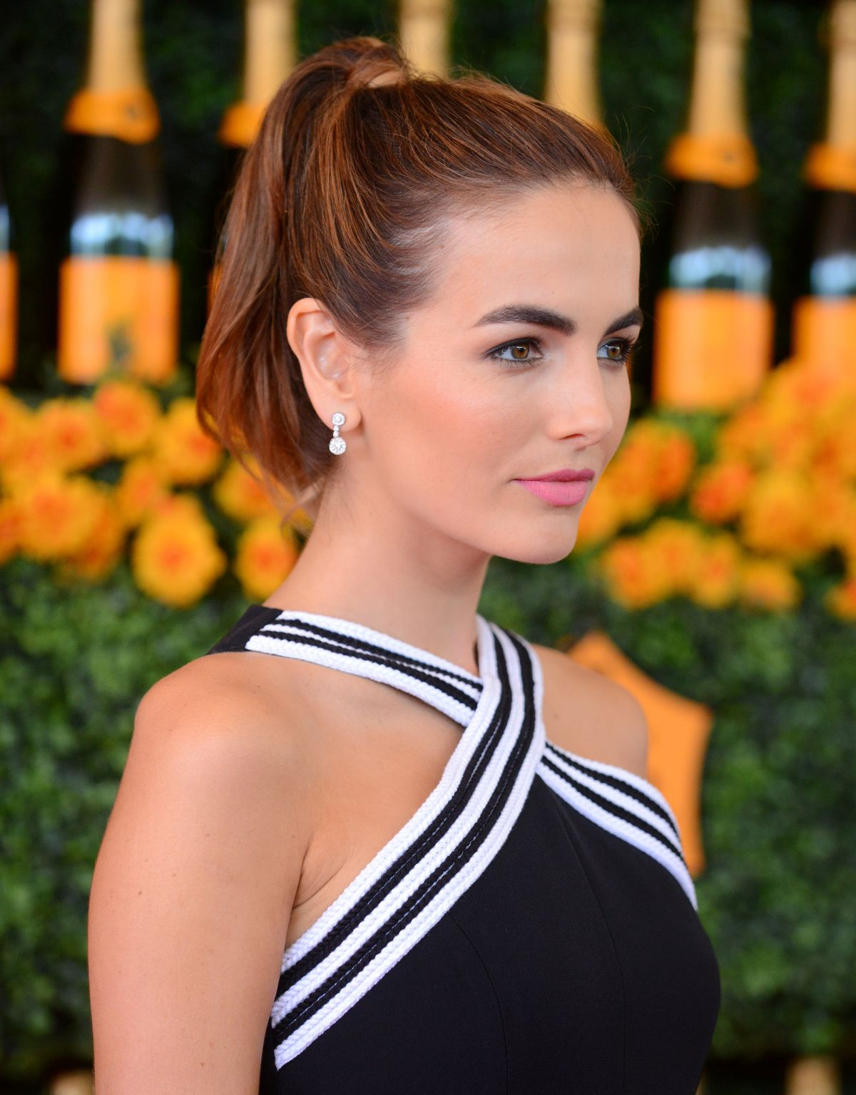 camilla belle at 2015 veuve clicquot polo classic in