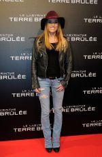 CAPUCINE ANAV at Maze Runner: Scorch Trials Premiere in Paris 09/29/2015