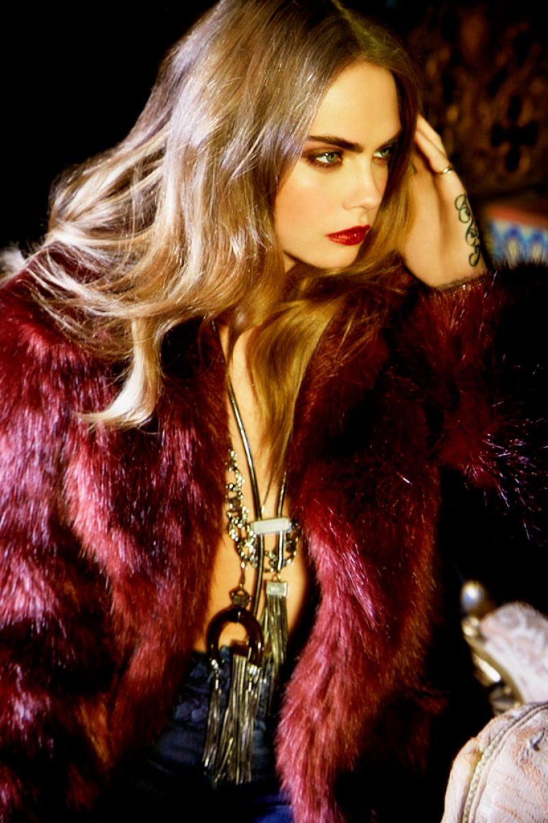 CARA DELEVINGNE by Ellen Vvon Unwerth for Bo.Bo Fall/Winter 2015