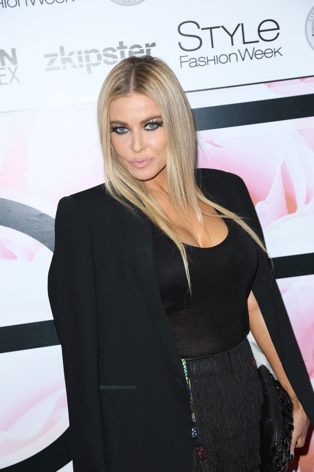 CARMEN ELECTRA at Marco Marco's Spring/Summer 2016 Collection 4 Show ...