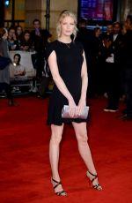 CAROLINE WINBERG at Burnt Premiere in London 10/28/2015
