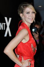 CAROLYN STOTESBERY at Agent X Premiere in West Hollywood 10/20/2015