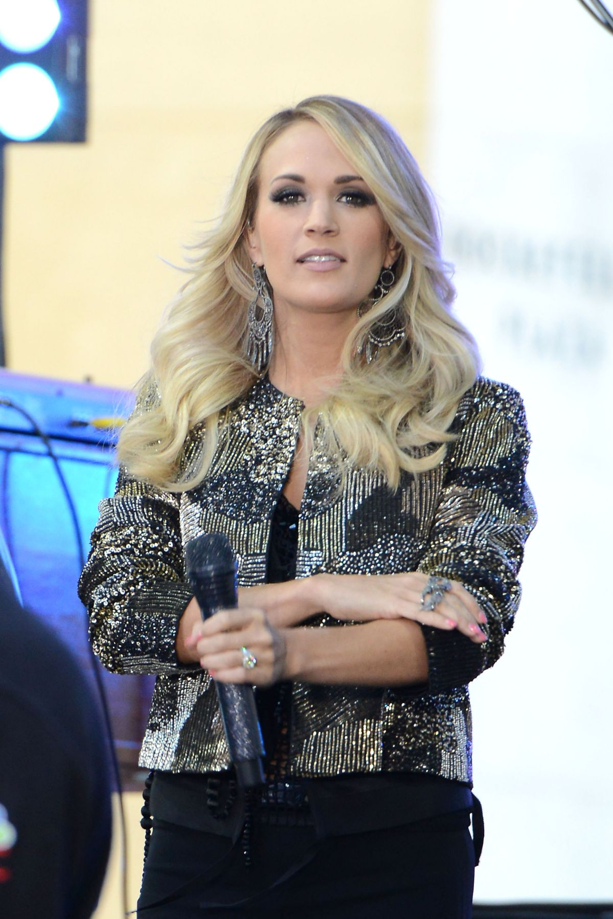 CARRIE UNDERWOOD Performs at The Today Show in New York 10/23/2015