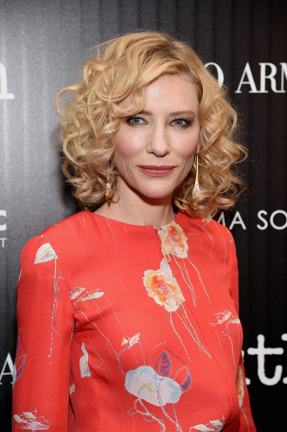 CATE BLANCHETT at Truth Premiere in New York 10/07/2015 ... Cate Blanchett