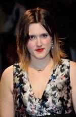 CHANYA BUTTON at Burn Burn Burn Premiere at 2015 BFI London Film Festival 10/15/2015