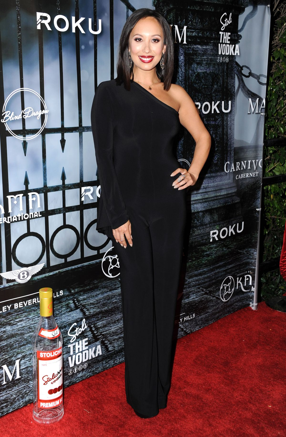 CHERYL BURKE at Maxim Magazine's Official Halloween Party in ...