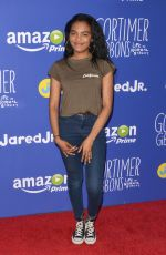 CHINA ANNE MCCLAIN at Just Jared Fall Fun Day in Los Angeles 10/24/2015