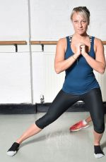 CHLOE MADELEY in Tight Workout Clothes 29/10/2015