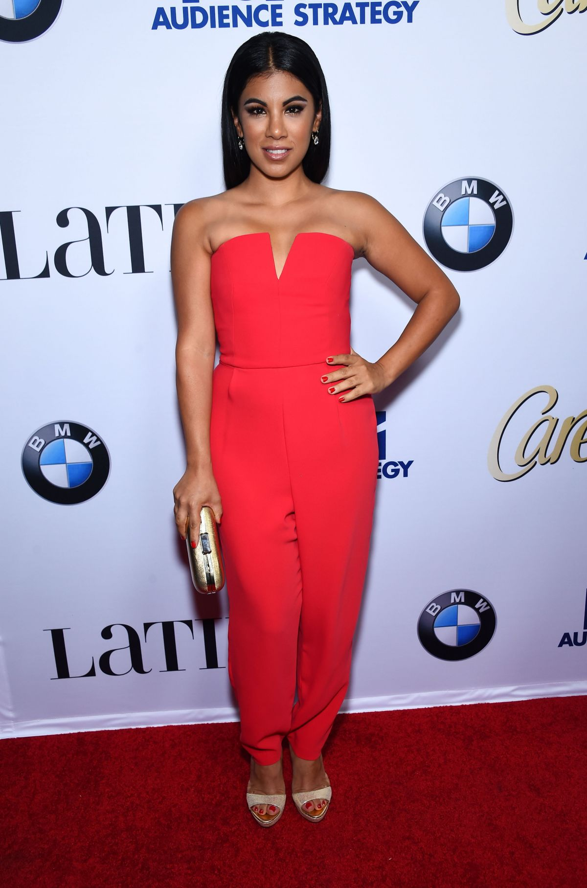 CHRISSIE FIT at Latina Hot List Party in West Hollywood 10/06/2015