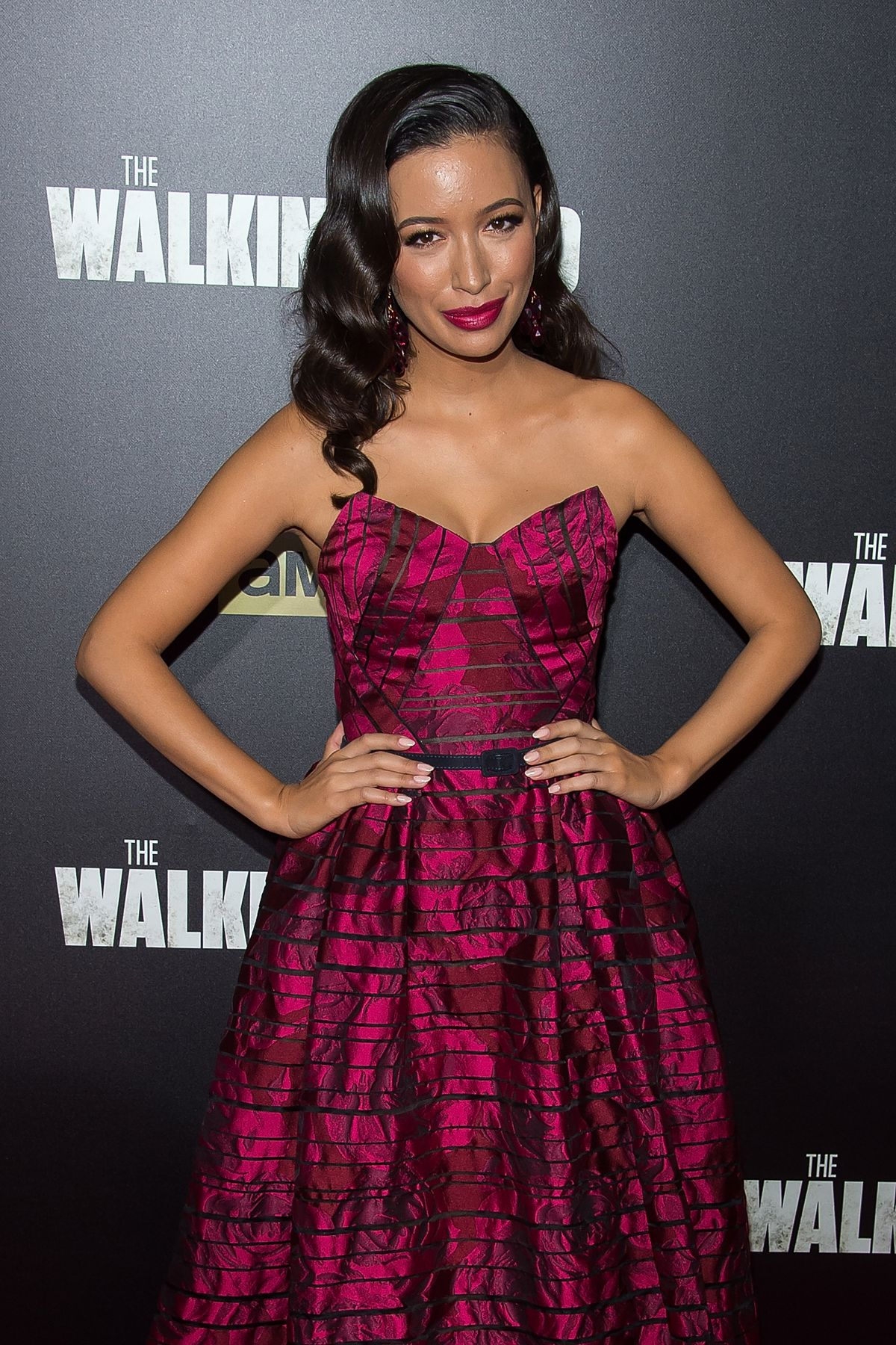 CHRISTIAN SERRATOS at The Walking Dead Season 6 Premiere 10/09/2015
