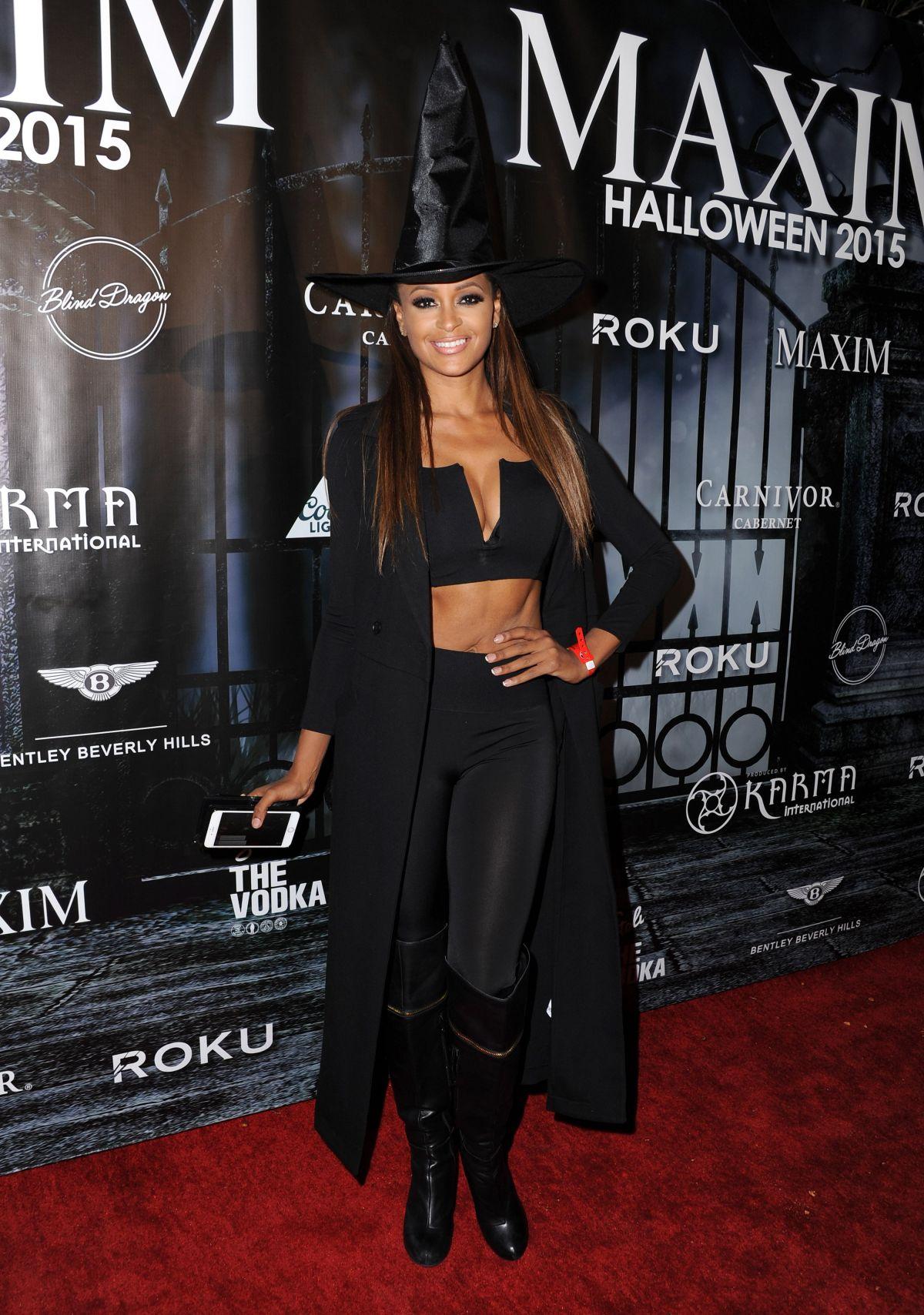 CLAUDIA JORDAN at Maxim Magazine's Official Halloween Party in ...