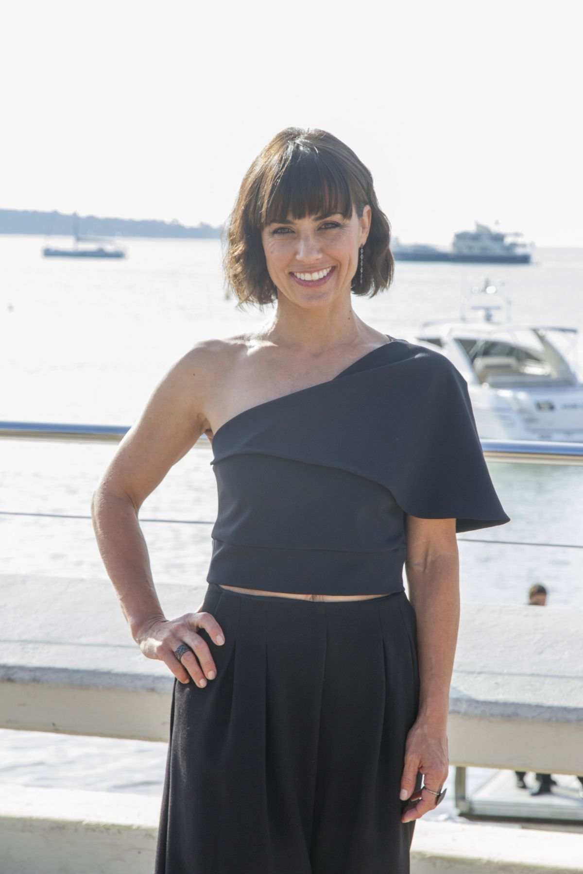 CONSTANCE ZIMMER at Unreal Photocall in Cannes 10/06/2015