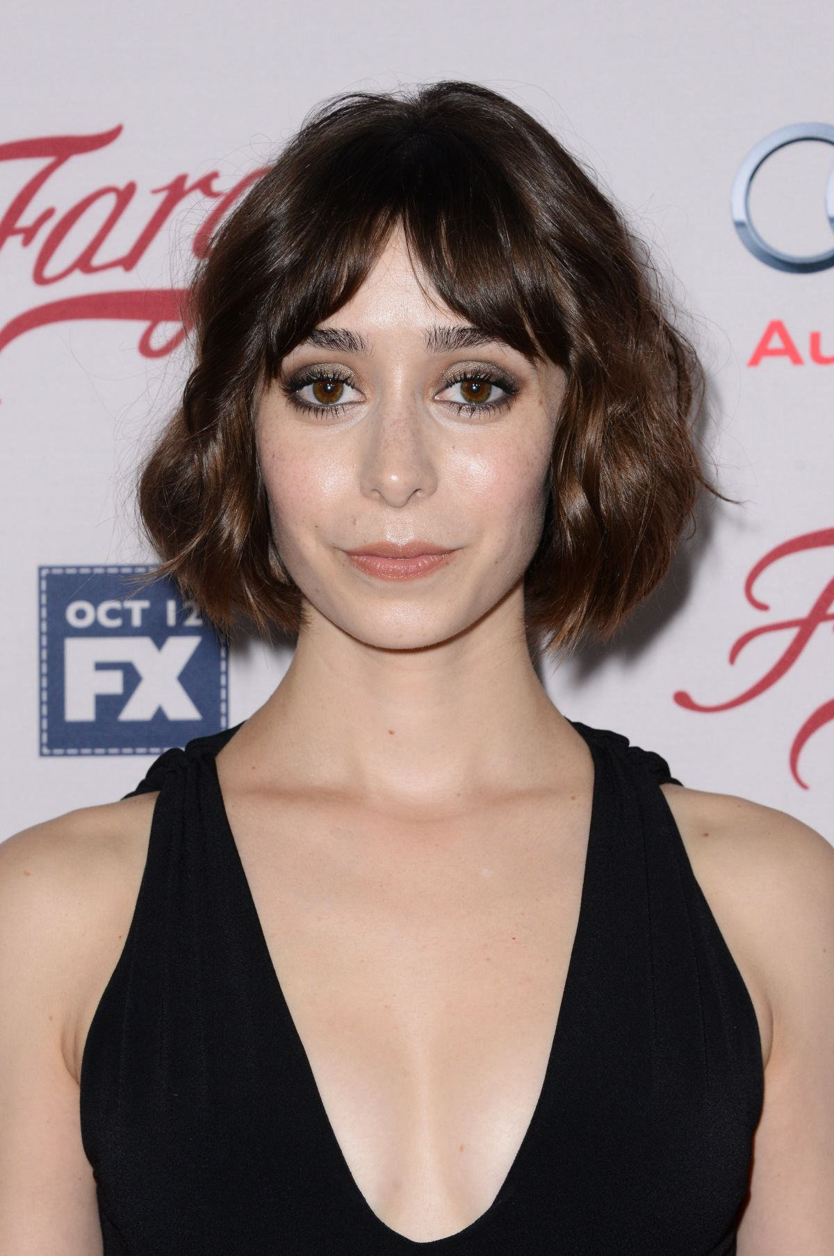 CRISTIN MILIOTI at Fargo Season 2 Premiere in Hollywood 10/07/2015