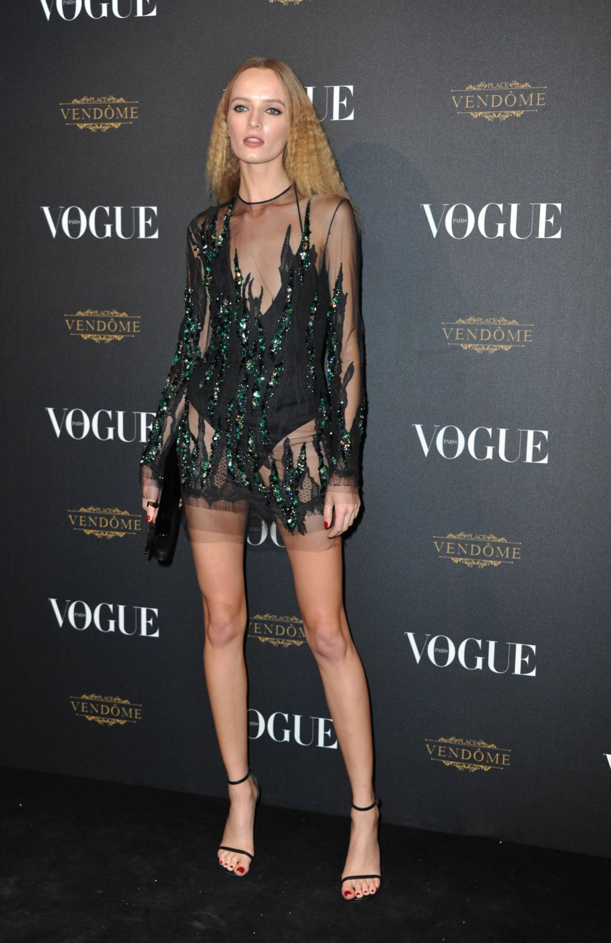DARIA STROKOUS at Vogue's 95th Anniversary Party in Paris 10/03/2015