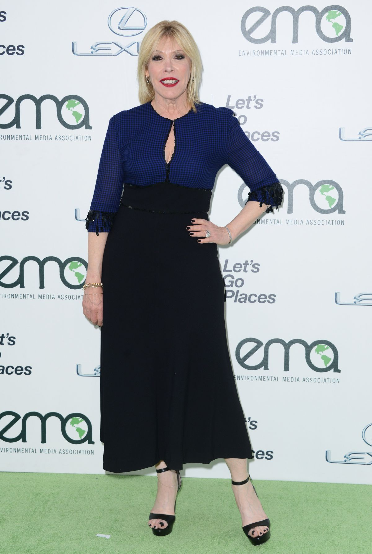 DEBBIE LEVIN at 2015 EMA Awards in Burbank 10/24/2015