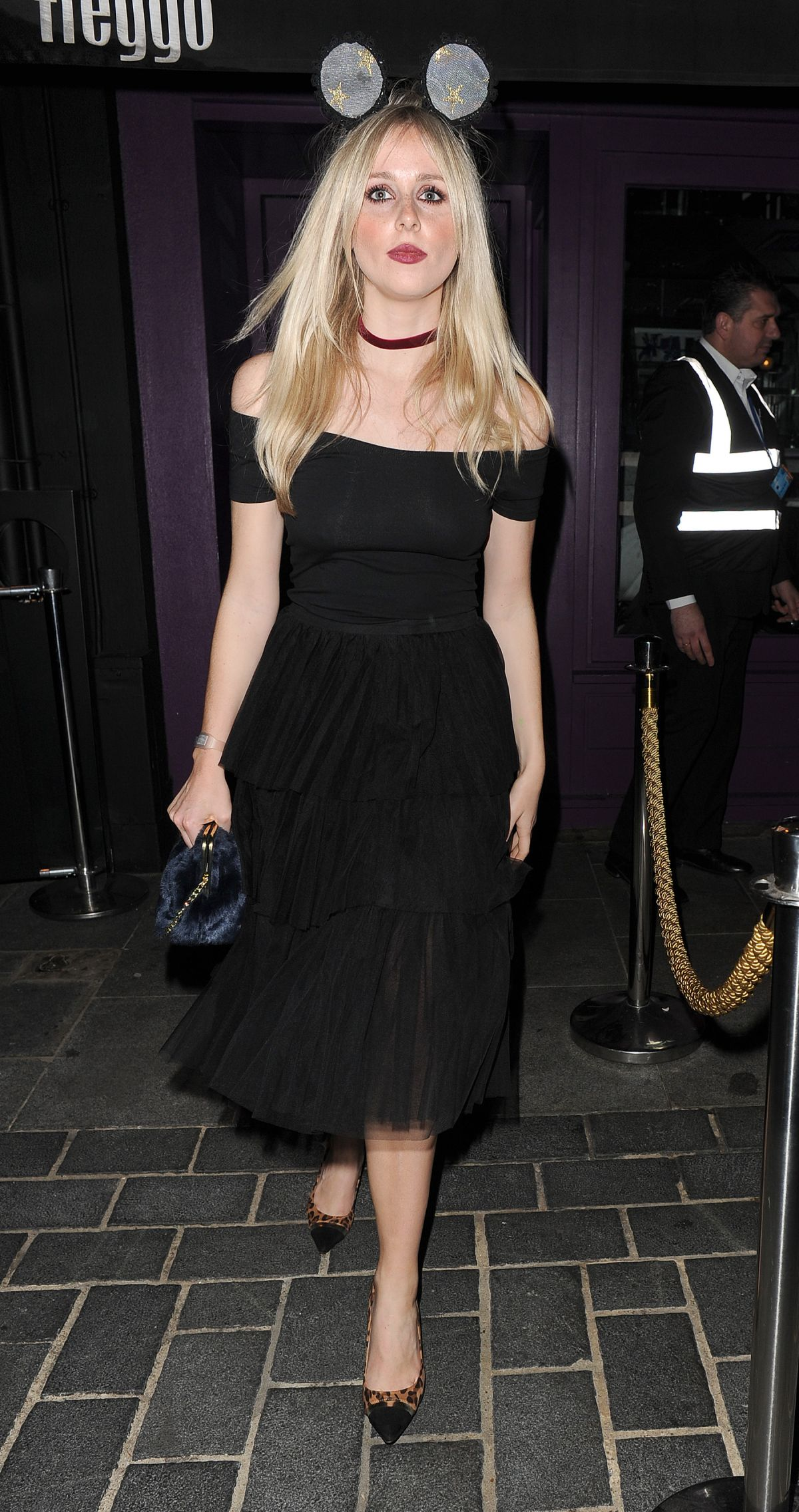 DIANA VICKERS at The Cuckoo Club Halloween Party in London 10/28/2015