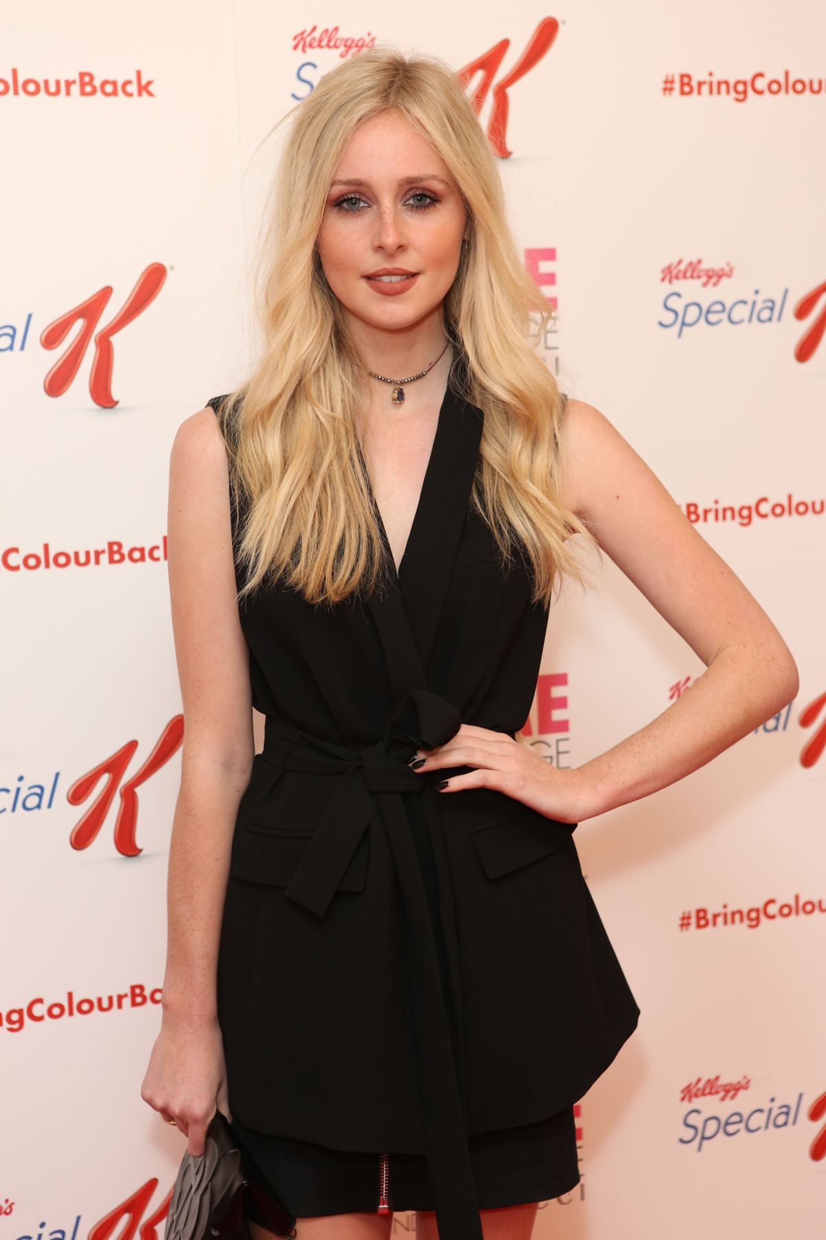 DIANA VICKERS at The Special K Bring Colour Back Launch in London 10/07/2015