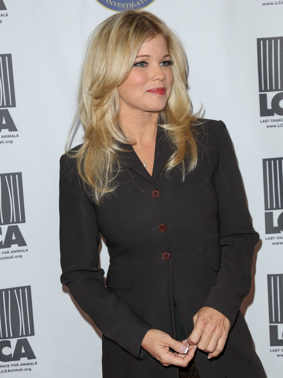 DONNA D\'ERRICO at Last Chance for Animals Annual Gala in Beverly ...