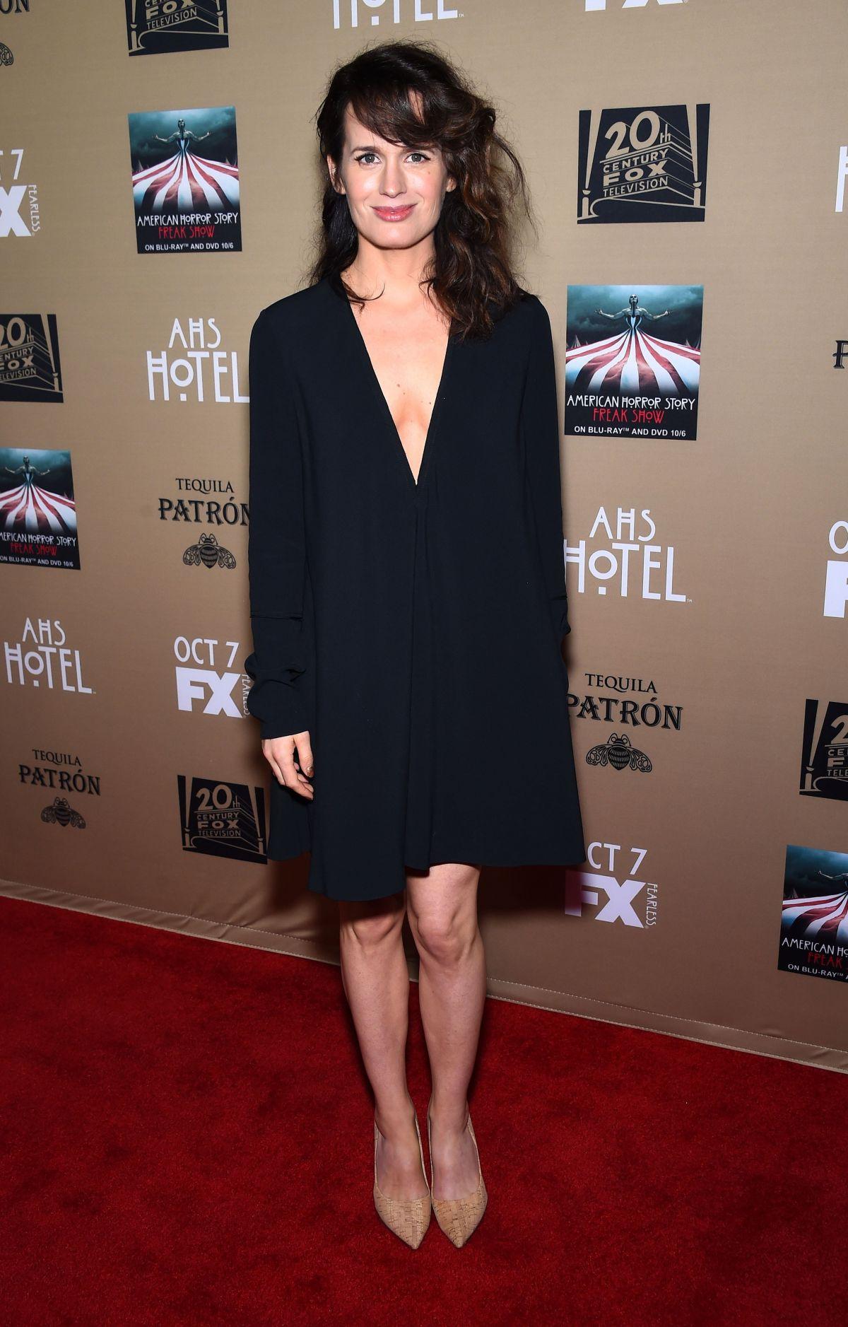 ELIZABETH REASER at American Horror Story: Hotel Screening in Los Angeles 10/03/2015