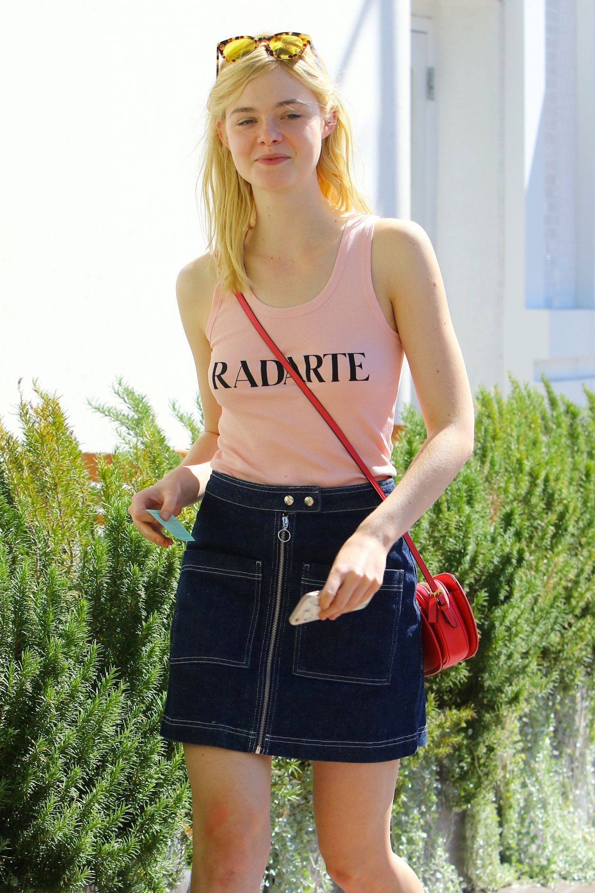 ELLE FANNING Out and About in Toluca Lake 10/10/2015 – HawtCelebs