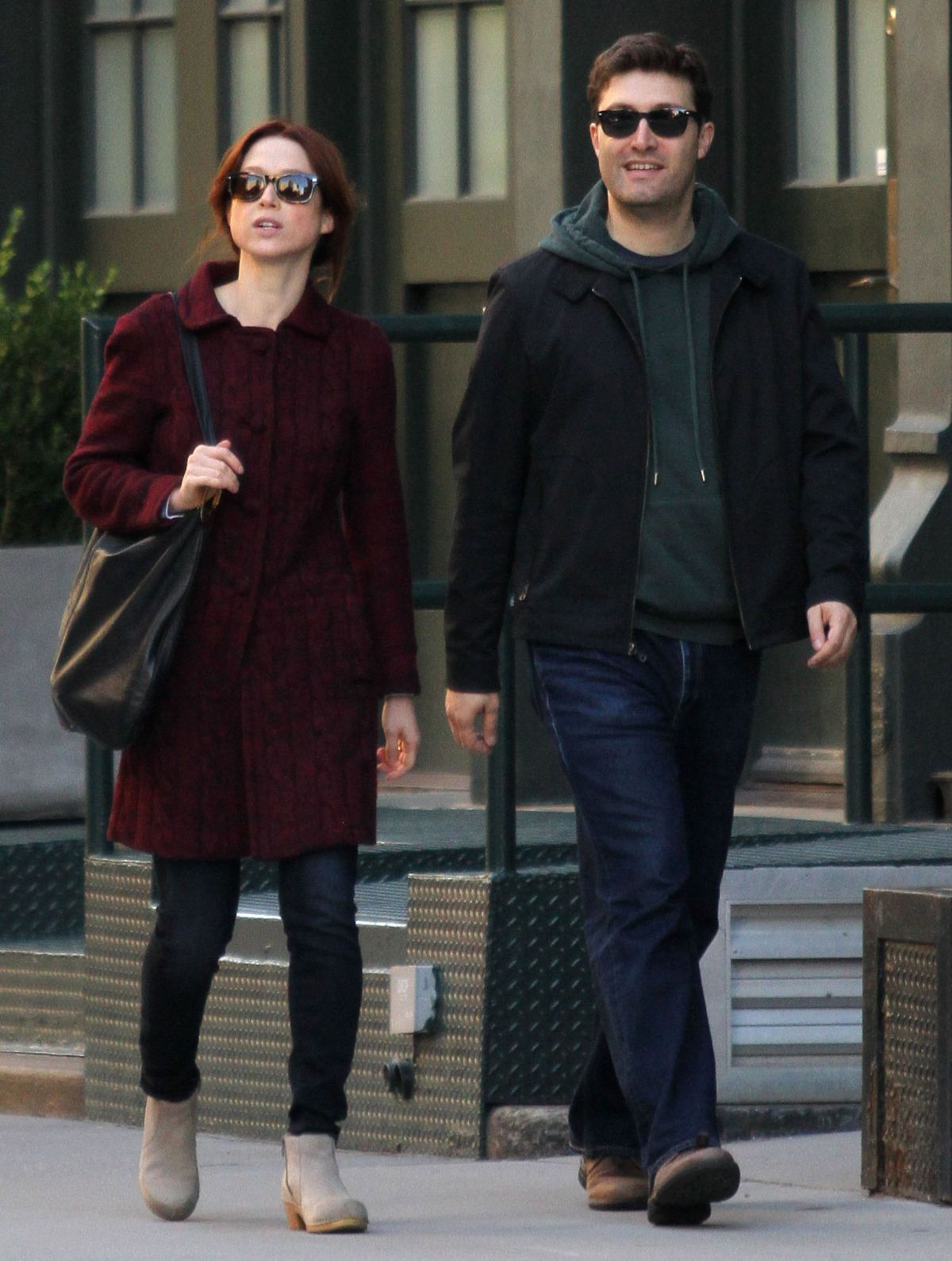 ELLIE KEMPER and Michael Koman Out and About in New York 10/04/2015