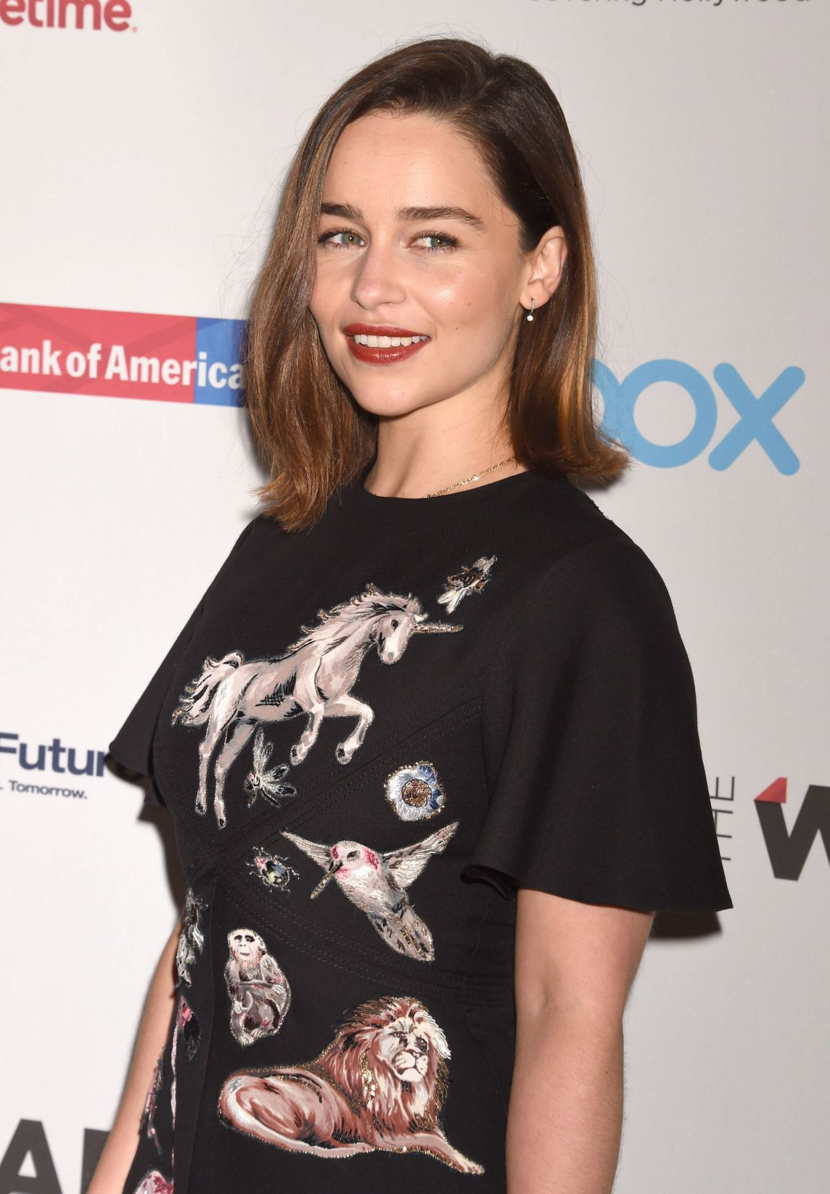 EMILIA CLARKE at Thewrap