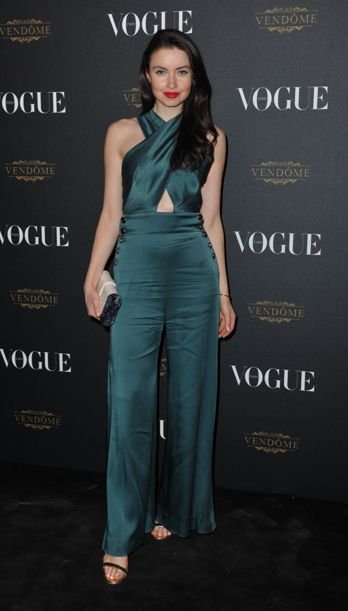 EMMA MILLER at Vogue's 95th Anniversary Party in Paris 10/03/2015