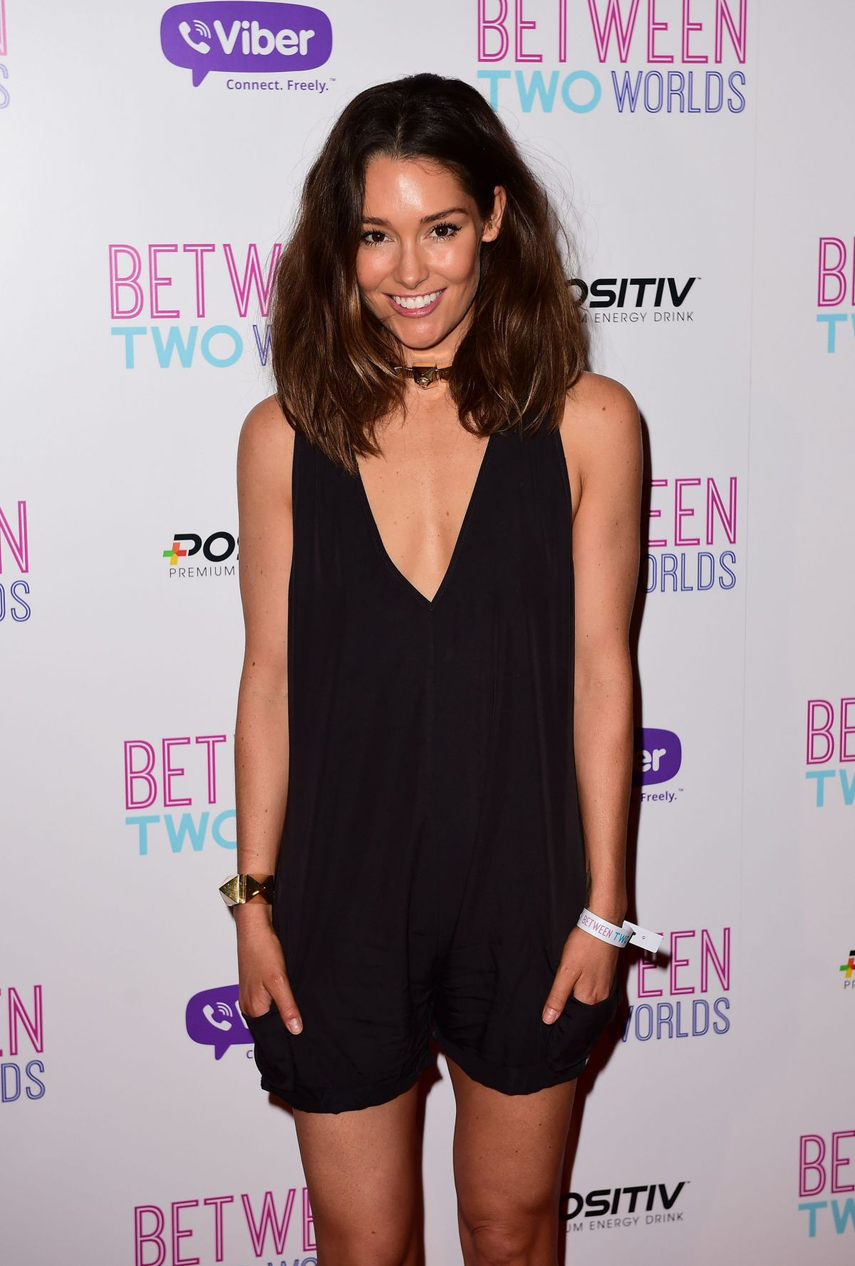 ERIN MCNAUGHT at Between Two Worlds Premiere in London 10/19/2015