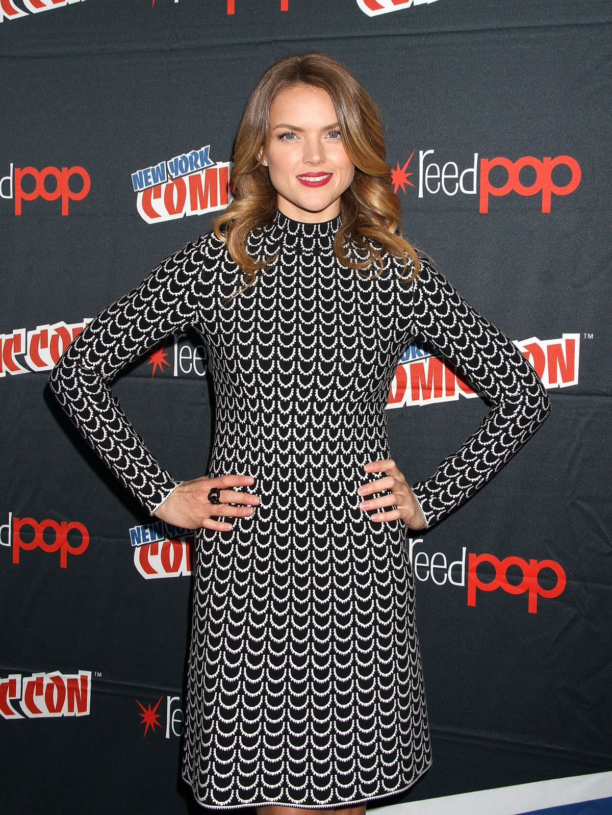 ERIN RICHARDS at 2015 New York Comic-con 10/11/2015