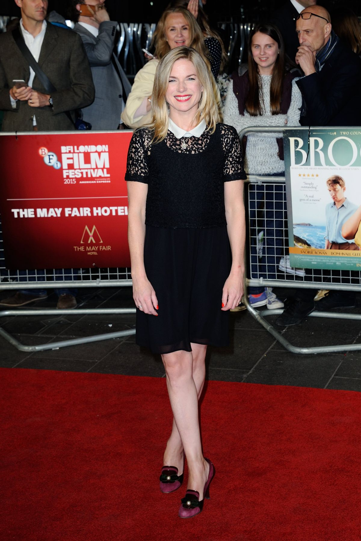 EVA BIRTHISTLE at Brooklyn Premiere at 2015 BFI London Film Festival 10/12/2015