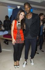 FABIENNE CARAT at Harmont & Blaine Store Opening in Paris 10/13/2015