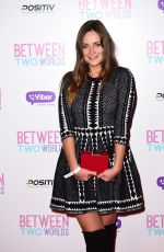 FRAN NEWMAN-YOUNG at Between Two Worlds Premiere in London 10/19/2015