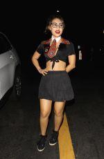 FRANCIA RAISA at Hyde's Halloween Bash in Hollywood 10/24/2015