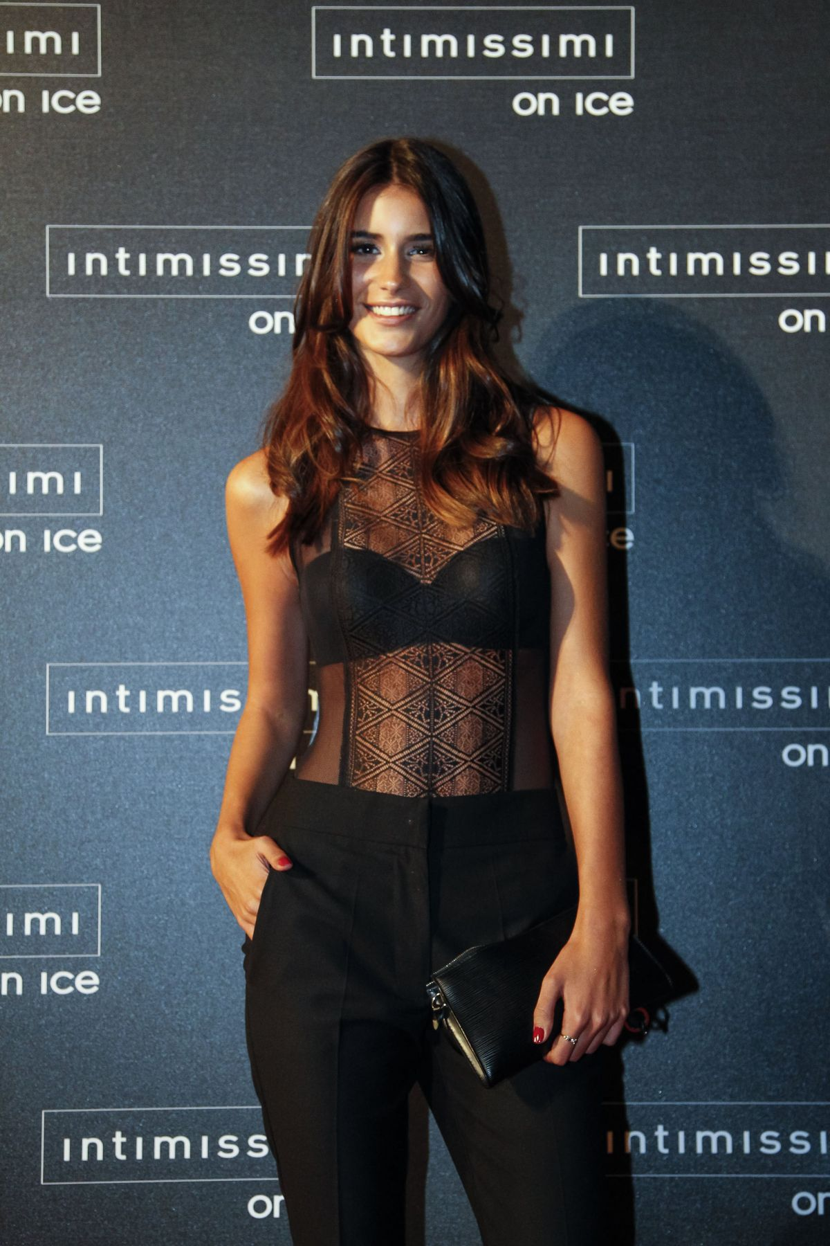 FRANCISCA PEREZ at Intimissimi on Ice 2015 Gala in Verona 10/09/2015