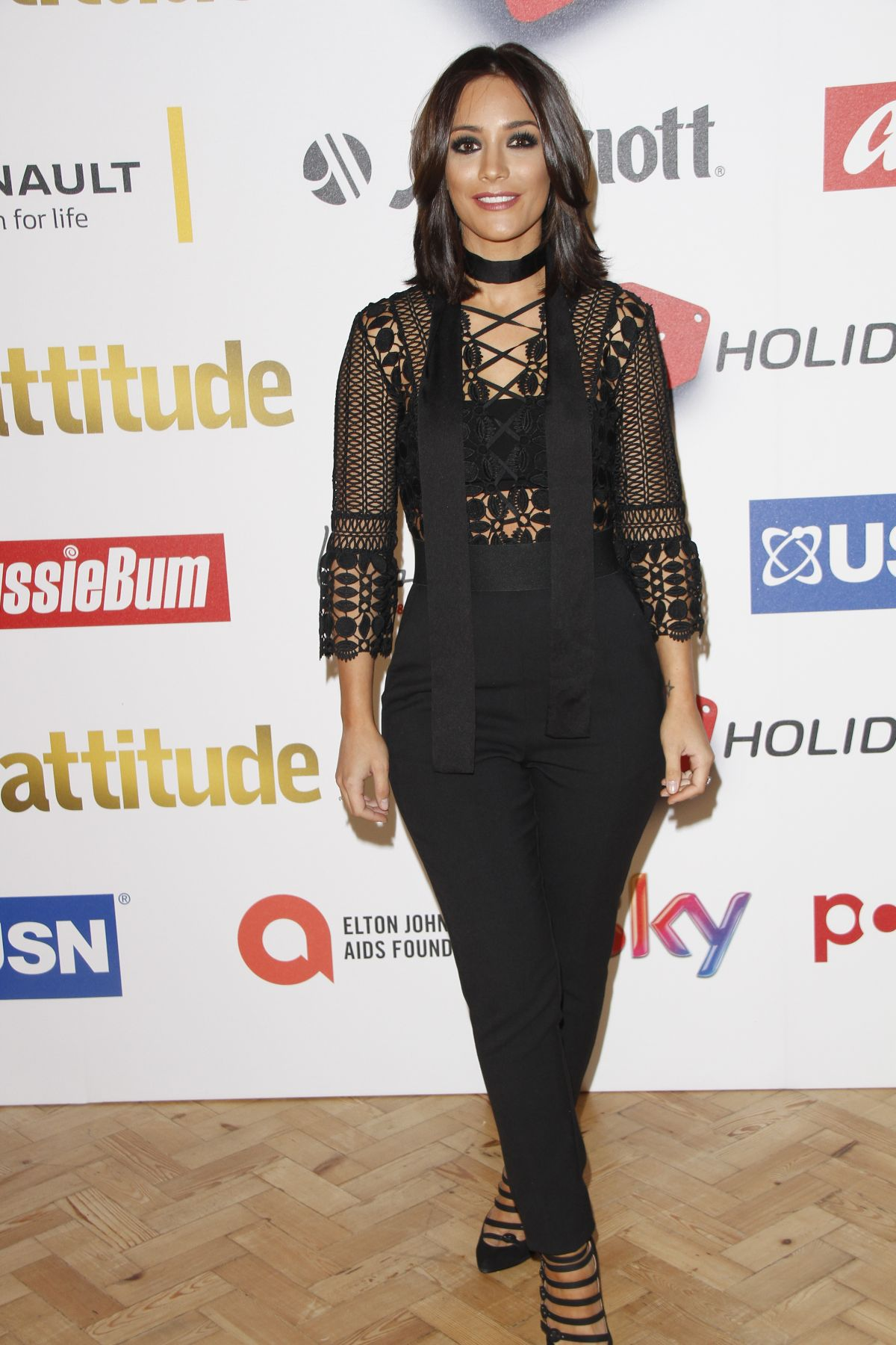 FRANKIE SANDFORD at Attitude Magazine Awards in London 10/14/2015