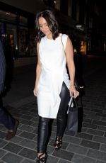 FRANKIE SANDFROD Out and About in London 09/30/2015