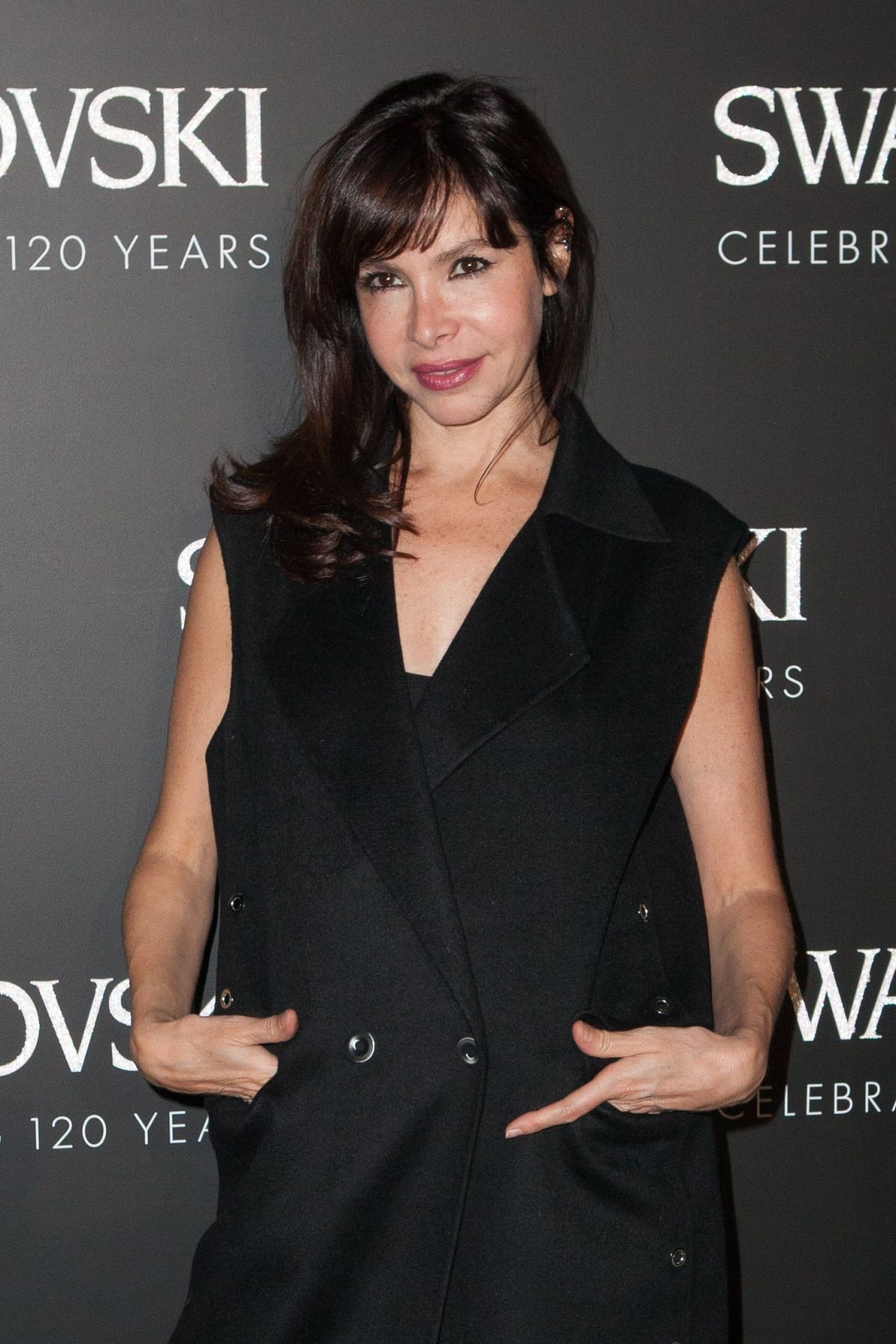 FREDERIQUE LOPEZ at Swarovski 120 x Rizzoli Exhibition and Cocktail in Paris 09/30/2015