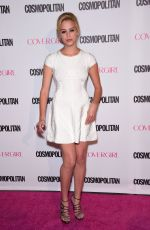 GAGE GOLIGHTLY at Cosmopolitan's 50th Birthday Celebration in West Hollywood 10/12/2015