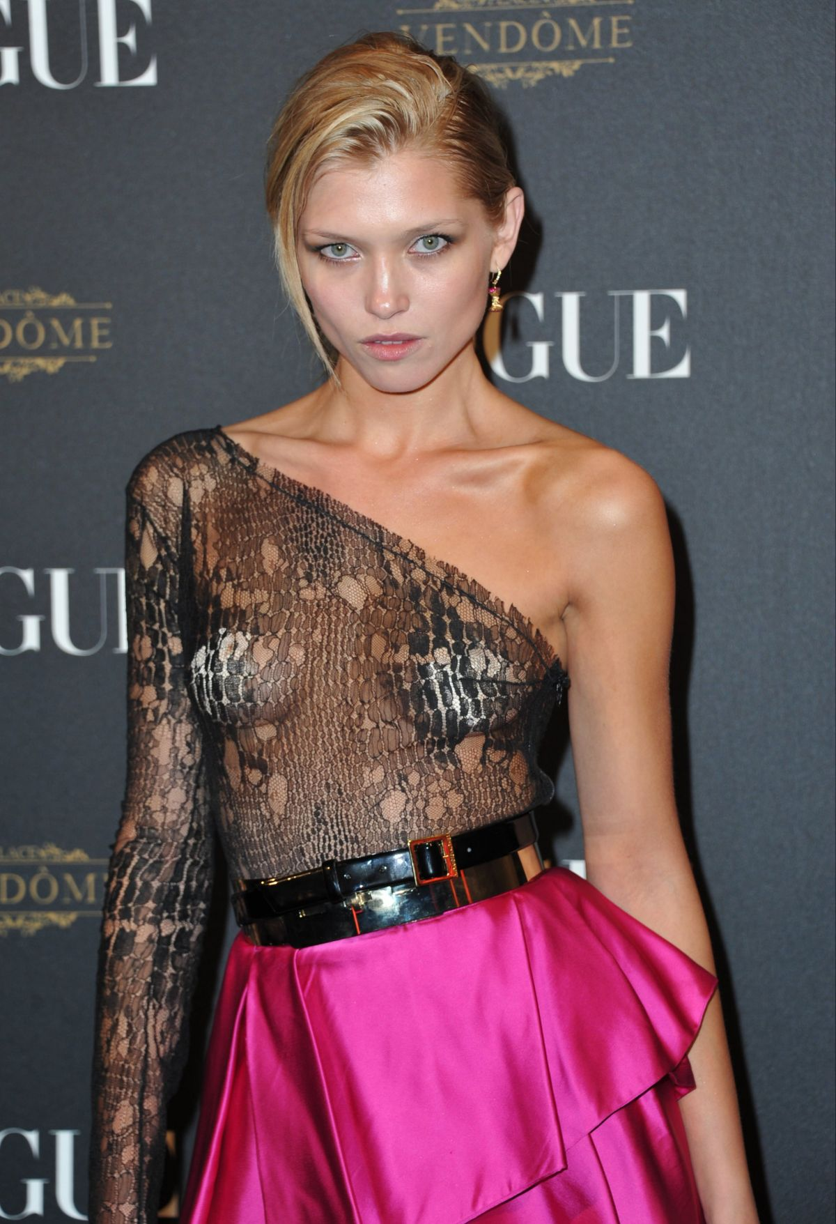HANA JIRICKOVA at Vogue's 95th Anniversary Party in Paris 10/03/2015