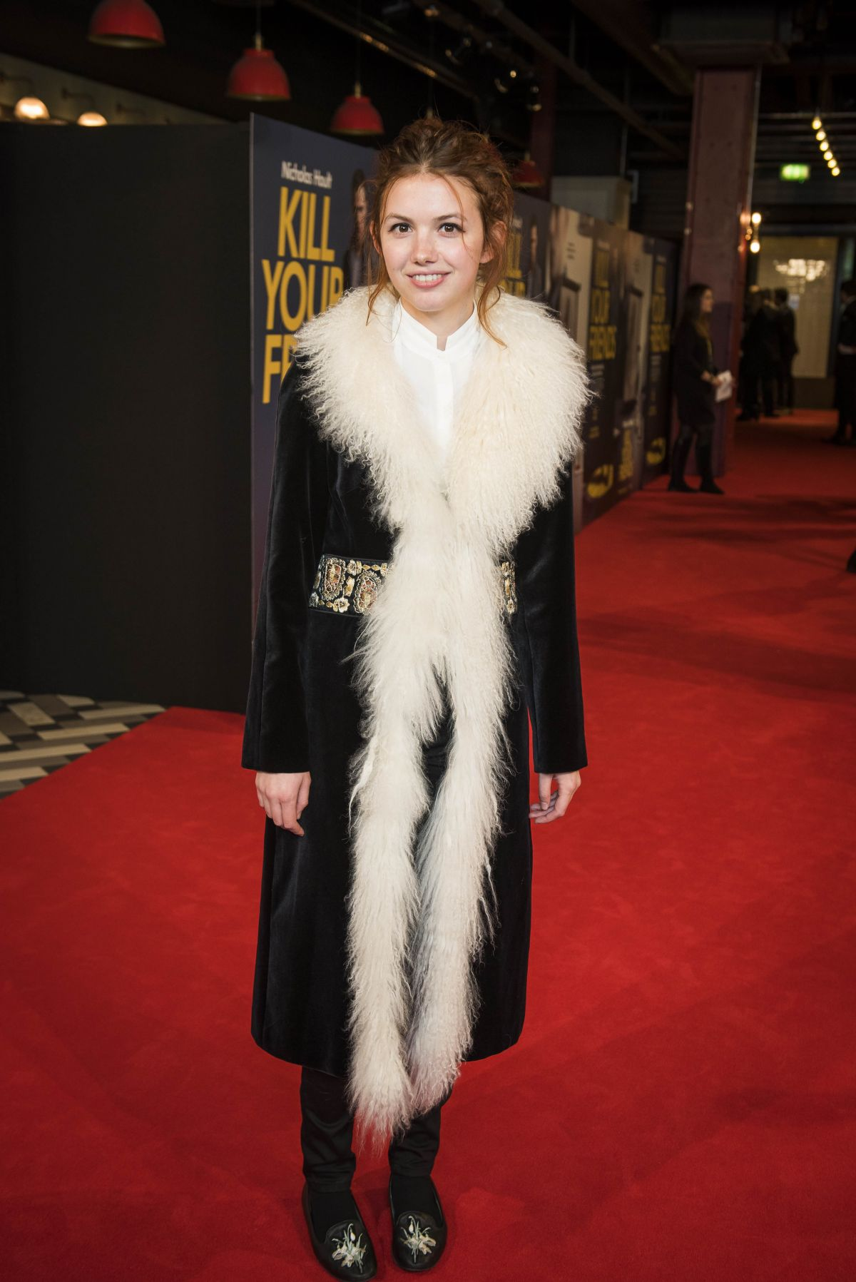 HANNAH MURRAY at Kill Your Friends Premiere in London 10/22/2015