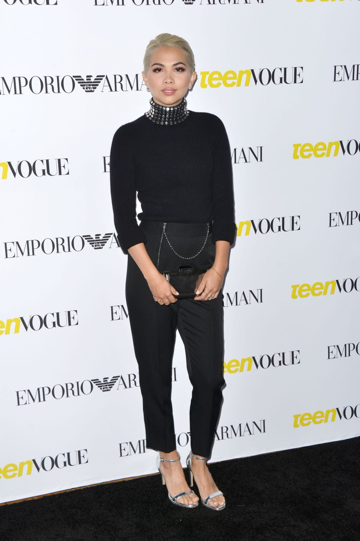 HAYLEY KIYOKO at Teen Vogue's 13th Annual Young Hollywood Issue Launch Party in Los Angeles 10/02/2015