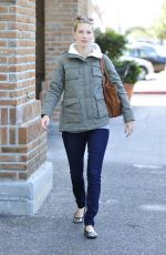 HEATHER MORRIS with a Pumpkin Out in Calabasas 10/19/2015